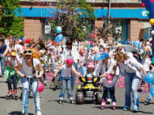 На время детского карнавального шествия в центре Красноярска перекроют движение
