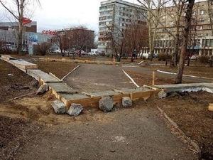 Развлекательного центра в сквере около дворца Труда в Красноярске не будет