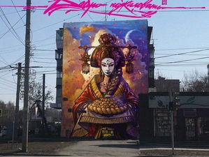 Жители Челябинска выберут лучшие граффити, которые украсят город