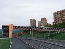 В Красноярске построят пешеходный переход к Юдинке через Николаевский проспект