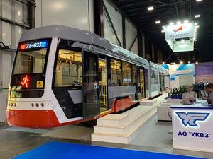«Ждём заказы»: завод «Роскосмоса» презентовал новую модель трамвая «Челябинский метеор»