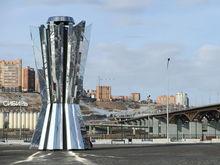 За обслуживание чаши Универсиады «Красноярсккрайгаз» требует с мэрии 1,9 млн рублей