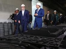 Бренд Челябинской области: Текслер посетил завод «Мечела», который хочет обанкротить ФНС