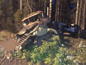 Водитель был пьян. После взрыва бензовоза на Конжаке погибли три человека