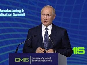 Владимир Путин в Екатеринбурге: главные заявления — про Грузию, мракобесие и червяков