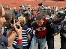 «Апофеоз административного идиотизма». В Москве прошла акция за независимых кандидатов