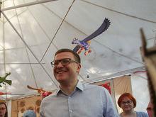 ЧМК пожертвовал деньги на пиар-кампанию Алексея Текслера