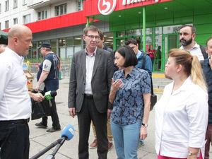 В Челябинске начали сносить рынок, из-за которого и.о. мэра Котова отругала подчинённых