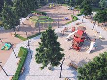 Игровой комплекс у озера на Автозаводе должны открыть в сентябре