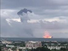 ЧП в Ачинске: взрывы на территории воинской части, жителей эвакуируют