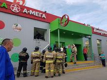 В здании «Пятёрочки» на северо-западе Челябинска обвалилась крыша