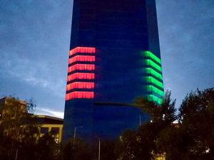 Здание КАТЭК в Красноярске обретет подсветку