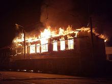 В Челябинске рядом с элитными высотками сгорел объект культурного наследия