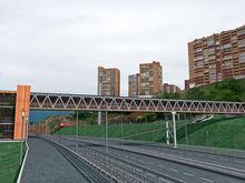 Пешеходный мост над Николаевским проспектом построят к декабрю