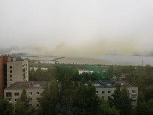 «Мог произойти выброс свинца». Уральские города накрыло густое оранжевое облако
