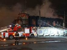 «Умышленное уничтожение»: пожар в доме Пчелина перерос в уголовное дело