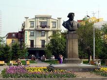 Сквер Сурикова в Красноярске снова реконструируют