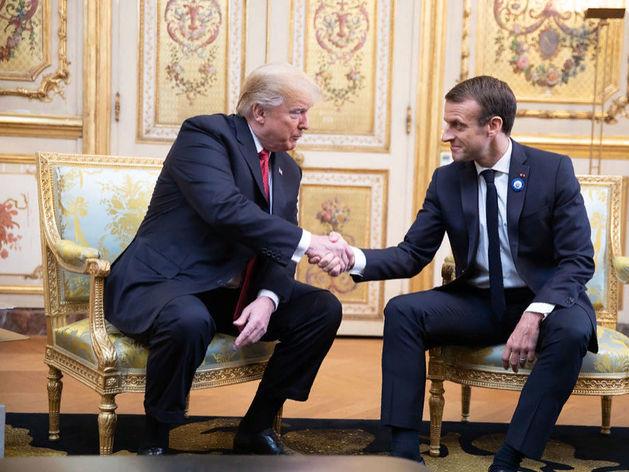 Трамп и Макрон договорились пригласить Россию на саммит G7