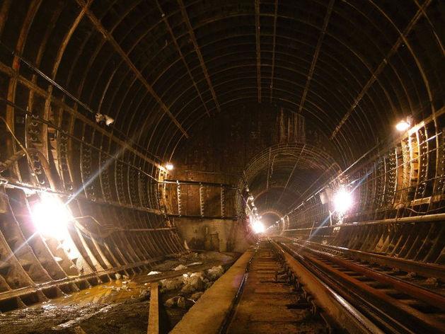 Законсервированная станция метро «Бажовская»