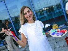 Больше 100 художников рисовали на крыше Италию