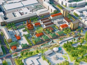 В Красноярске выбрали подрядчика для реконструкции «Исторического квартала»