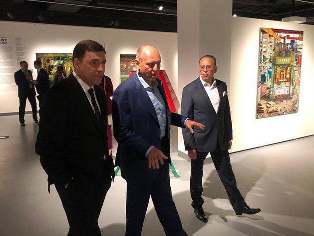 Дмитрий Пумпянский презентовал «Синара-Центр» стоимостью 2 млрд руб.