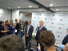 Сбербанк запускает в Новосибирске обещанный Грефом мультмедийный фонтан