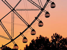 Колесо обозрения на набережной продают за 20 миллионов на Авито