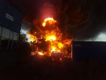 Уголовное дело возбудили по факту крупного пожара на складе ГСМ под Нижним Новгородом