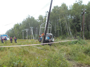 «Нижновэнерго» с начала года отремонтировало более 6 тыс. км линий электропередачи