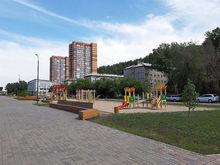 В Красноярске к концу октября должны закончить реконструкцию двух скверов