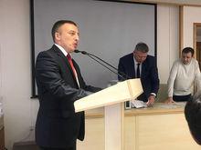 Сергея Волкова выбрали председателем общественной палаты Красноярска
