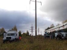 В Нижновэнерго прошли учения по отработке действий в неблагоприятных погодных условиях