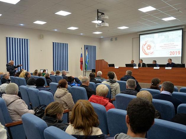 Встреча жителей микрорайона Уралмаш с городскими властями