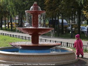 Завершена реконструкция пяти фонтанов в Сормовском районе