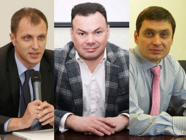 Константин Левушкин, Павел Ефремов, Игорь Кошмин