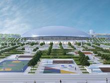 Ледовый дворец «подрос». Новую спортивную арену на Стрелке сделают пятиэтажной