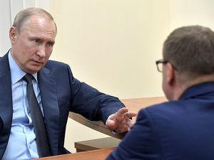 Текслер сообщил Путину о том, что на Южном Урале стало меньше выбросов