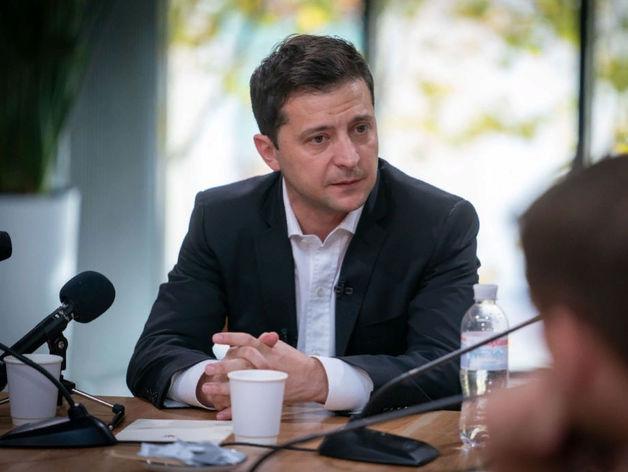 «Моя миссия — прекратить войну». Зеленский о встрече с Путиным и напряженности на Донбассе