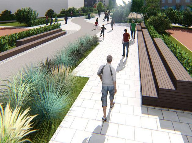 Крупный застройщик построит новый бульвар в Екатеринбурге