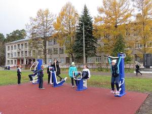 Современная спортивная площадка появилась в Стригино