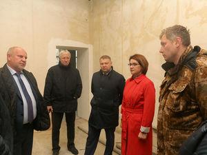 Капитальный ремонт школы №123 в Ленинском районе завершен на 85%