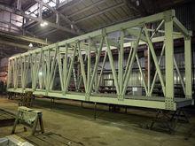 Первый пролёт пешеходного моста через Николаевский проспект собрали на красноярском заводе