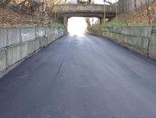 Участок дороги, связывающий поселок Подгорный с проспектом Гагарина, отремонтировали