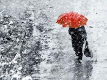 Красноярск на неделе ожидает шквальный ветер и дожди со снегом