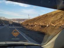 Дорожники начали реконструкцию Северного шоссе в Красноярске
