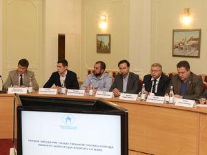 Геннадий Рябов возглавил Общественную палату города Нижнего Новгорода