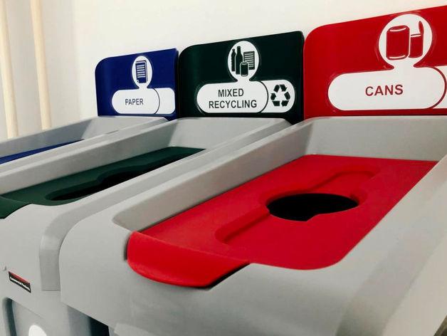 Все как в Европе: «Екатеринбург-Экспо» перешел на систему раздельного сбора мусора