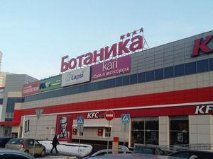 В Екатеринбурге в торговом центре произошел пожар