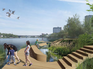 Реконструкция второй очереди правобережной набережной в Красноярске обойдётся в 140 млн